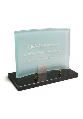 Plaque verre 20x30cm a106a
